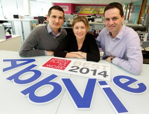 Senior Management of Abbvie, Great Places to Work PR Photography.