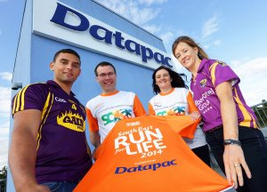 Datapac Solas Run for Life PR Photo.