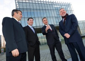 Datapac and Wexford County Council Public Relations Photograph.