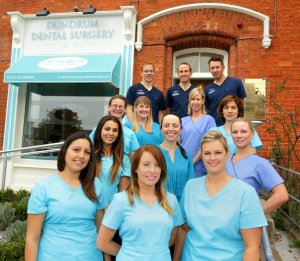 Dundrum Dental Team Photography outside their dental practice.