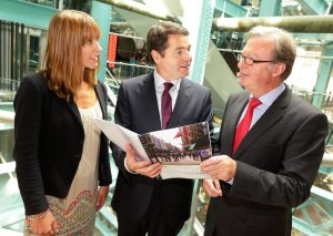 Minister Paschal Donohoe at ITAS annoucement.