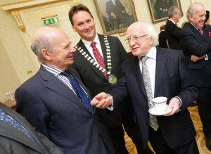 President Michael D Higgins, ITAS Visit.