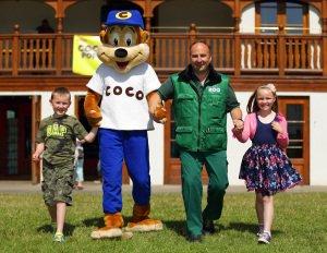 Coco Pops, Dublin Zoo PR.