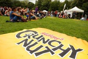 Kelloggs Crunchy Nut Event.