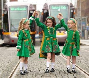 Luas Irish Dancing PR Photo.