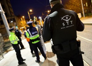 Luas Night Time Security and Garda Presence.