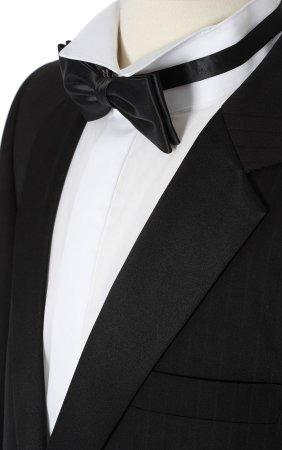 Tuxedo Close up photo.