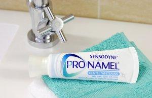 Sensodyne Toothpaste Product Photo.