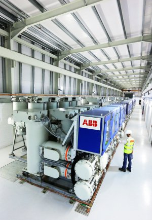 ABB Industrial Plant Photography.