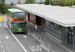 Photo of bus at Park and Ride, Blackash.