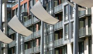 Dublin Apartments Exterior Photography.