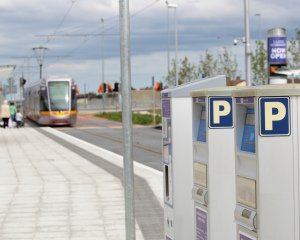 Luas Park and Ride Machine.