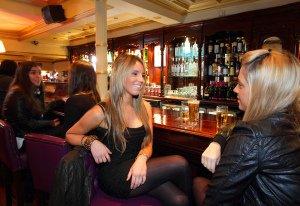 Mercantile Bar Dublin Interior Photography.