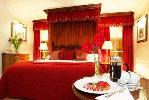 Mercantile Hotel Interior Bedroom Photography.