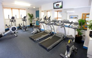 Interior Photo of Mespil Hotel Gym.