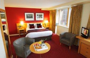 Interior Bedroom photo, Mespil Hotel.