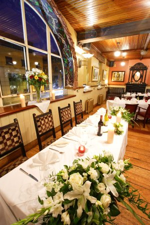 Interior Photography of Nancy Hands Bar Wedding Function Room..