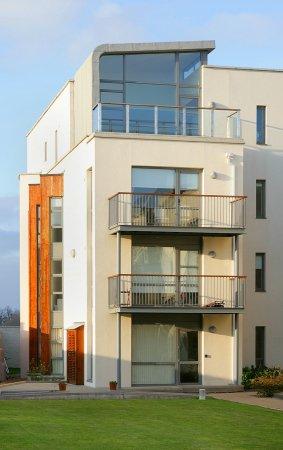 Architectural photo of Dublin apartment scheme.