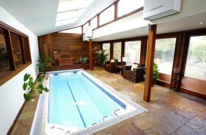 Architectural Photo of Dublin Residential Pool.