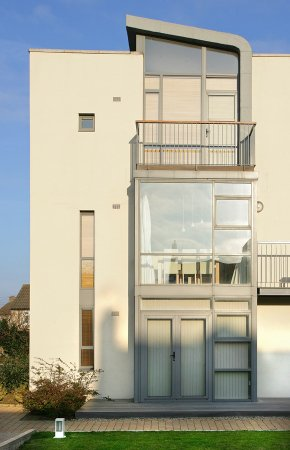Architectural Photograph of Dublin Apartment Scheme.